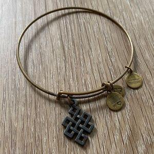 Alex & Ani Celtic Knot Bracelet - Gold